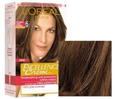 LOreal, Краска для волос Excellence Creme (32 оттенка), 270 мл 6 Темно-русый L'Oreal