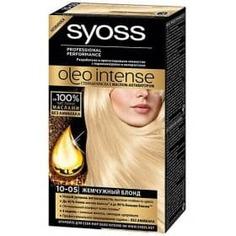 Syoss, Краска для волос Oleo Intense, 115 мл (29 оттенков) 10-05 Жемчужный блонд