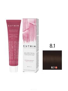Cutrin, Кутрин краска для волос Aurora Аврора (SCC-Reflection) (палитра 97 оттенков), 60 мл 8.1 Светлый пепельный блондин