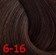 Constant Delight, Крем краска для волос с витамином С Crema Colorante Vit C (121 оттенок), 100 мл Д 6/16 темно-русый сандре шоколадный