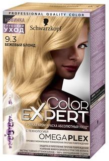 Schwarzkopf Professional, Краска для волос Color Expert (22 оттенков) 9.3 Бежевый блонд