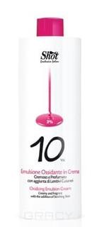 Shot, Окислитель для волос кремообразный (3, 6, 9, 12%) SHOT Кремовая окисляющая эмульсия 3%, 150 мл