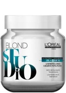 LOreal Professionnel, Паста осветлитель для волос Platinium без аммиака Blond Studio, 500 гр