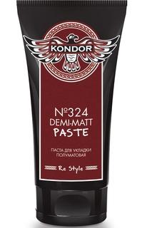 Kondor, Паста полуматовая для укладки волос для мужчин Re Style №324, 50 мл Кондор