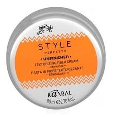 Kaaral, Волокнистая паста для текстурирования волос STYLE PERFETTO UNFINISHED TEXTURIZING FIBER CREAM, 80 мл