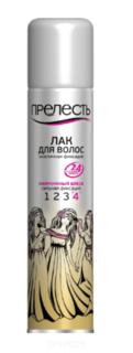 Прелесть Professional, Жидкий лак для волос Жемчужный блеск, 200 мл