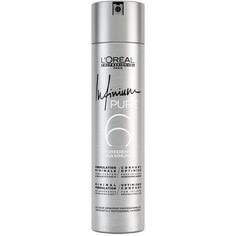 LOreal Professionnel, Лак для волос гипоаллергенный, средней фиксации Infinium Pure Soft, 500 мл