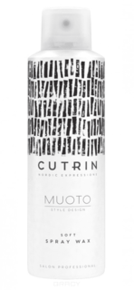 Cutrin, Невесомый воск-спрей для волос Soft Spray Wax Muoto, 200 мл