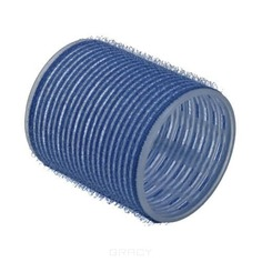 Sibel, Бигуди на липучке 56 мм голубой, 6 шт./уп.