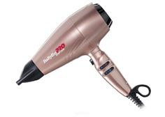 BabyLiss Pro, Фен для волос Rapido 2200Вт, ионизация, 3 насадки + глушитель, диффузор (2 цвета)
