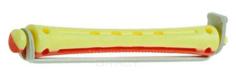 Sibel, Бигуди для химической завивки желто-красные длинные 8,5 мм, 12 шт/уп