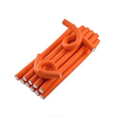 Sibel, Бигуди бумеранги оранжевые 25 см 17 мм, 12шт/уп