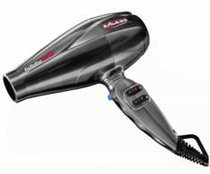 BabyLiss Pro, Фен для волос Excess серебряный, 2600Вт, 2 насадки BAB6800IE