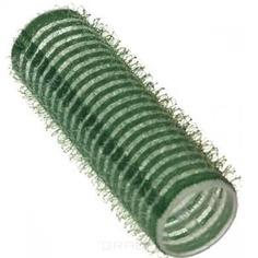 Sibel, Бигуди на липучке 21 мм зеленые, 12 шт./уп.