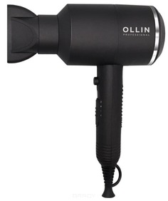 OLLIN Professional, Профессиональный фен для волос OL-7115, черный