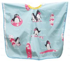 "Harizma, Пеньюар ""Пингвины"" (2 цвета) h10891, 1 шт, голубой"