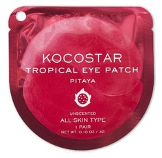 Kocostar, Гидрогелевые патчи для глаз Тропические фрукты Питахайя Tropical Eye Patch Pitaya, 60 патчей/30 пар, 180 г