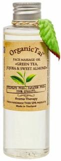 "Organic Tai, Массажное масло для лица Face Massage Oil ""Green Tea, Jojoba & Sweet Almond"", 120 мл"