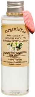 "Organic Tai, Массажное масло для лица Face Massage Oil ""Jasmin Absolute, Jojoba & Sweet Almond"", 120 мл"