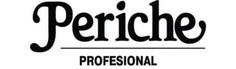 Periche, Пеньюар коричневый с логотипом для стрижки Периче