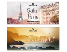Essence, Палетка теней City Eyeshadow Palettes, 13.5 гр (3 варианта), №02 Salut Paris