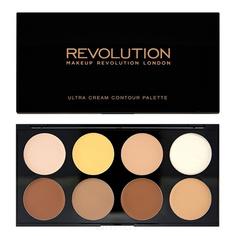 MakeUp Revolution, Корректор для лица Ultra Cream Contour Palette, 13 гр