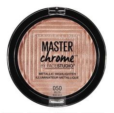 "Maybelline, Хайлайтер для лица ""Master Chrome"" для сияния кожи, оттенок 050 Molten Rose Gold, 6,7 гр"