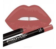 Provoc, Гелевая подводка в карандаше для губ Gel Lip Liner (12 тонов) 018 Irresistible (цв.натурально-розовый)