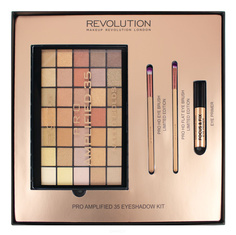 MakeUp Revolution, Набор для макияжа Amplified 35 Eyeshadow Kit