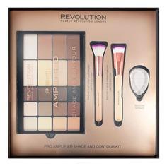 MakeUp Revolution, Набор для макияжа Pro Amplified Shade and Contour