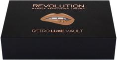MakeUp Revolution, Набор для макияжа губ Retro Luxe Lip Vault (10)