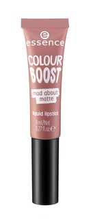 Essence, Жидкая губная помада Colour Boost Mad About Matte, 8 мл (7 тонов) №03, розовый нюд