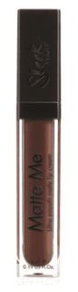 Sleek MakeUp, Блеск для губ Matte Me (17 тонов) Chocolate Meringue 1163