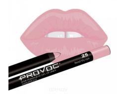 Provoc, Гелевая подводка в карандаше для губ Gel Lip Liner (12 тонов) 025 Read My Lips (цв. розово-бежевый)