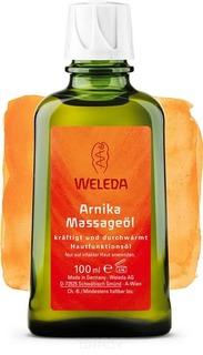 Weleda, Массажное масло с арникой, 50 мл