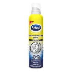 Scholl, Дезодорант Антиперспирант для ног Fresh Step, 150 мл