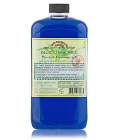 Aroma Spa, Массажное масло Голубая ромашка, 1л