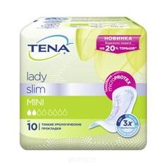 Tena, Прокладки урологические Lady Slim Mini, 10 шт