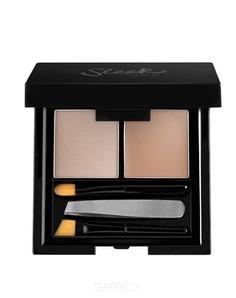 Sleek MakeUp, Набор для бровей Brow Kit (4 оттенка), Medium
