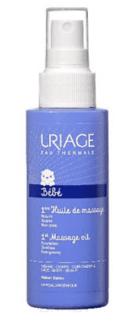 Uriage, Первое массажное масло 1ere Huile De Massage Bebe, 100 мл