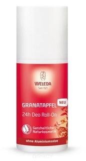 Weleda, Гранатовый дезодорант 24 часа Roll-On, 50 мл
