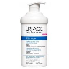 Uriage, Набор крем липидовостанавливающий + очищающее пенящее масло, 400 + 200 мл U05329