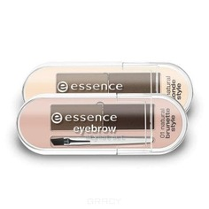 Essence, Набор для бровей Eyebrow Stylist Set, №01, для брюнеток