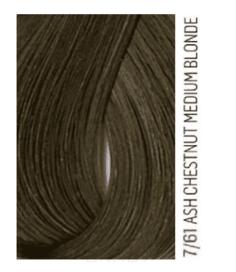 Lakme, Перманентная крем-краска для волос без аммиака Chroma, 60 мл (54 тона) 7/61 Средний блондин коричнево-пепельный