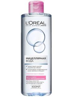 LOreal, Мицеллярная вода для сухой и чувствительной кожи, 400 мл LOreal