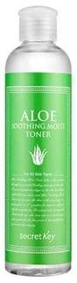 Secret Key, Aloe Soothing Moist Toner Увлажняющий тоник для лица с экстрактом алоэ, 248 мл