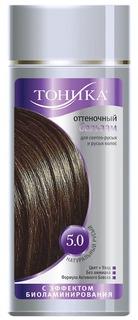 Тоника, Оттеночный бальзам с эффектом биоламинирования 5.0 Натуральный русый, 150 мл