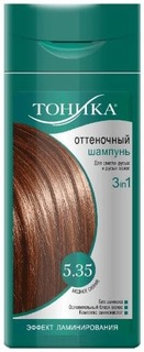 Тоника, Оттеночный шампунь 5.35 медное сияние, 150 мл