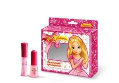 Принцесса, Набор №2 Нежность принцессы Блеск д/губ светло-роз + Лак детский д/ногтей 009 светло-роз, 5 мл + 8 мл