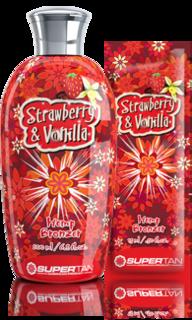 Supertan, Бронзатор с экстрактом из конопли Strawberry & Vanilla, 15 мл
